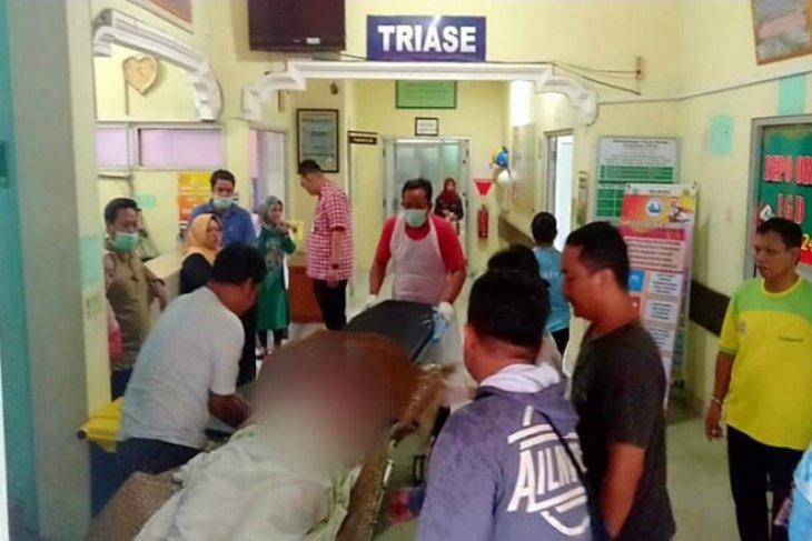 Polisi Kuala Kapuas Kalteng kejar seorang suami bacok istri