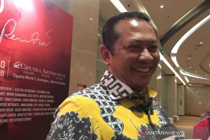 Ketua MPR Bambang Soesatyo dukung