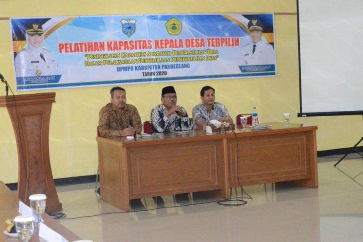 Sekda Pandeglang ingatkan kepala desa harus sejahterakan warganya
