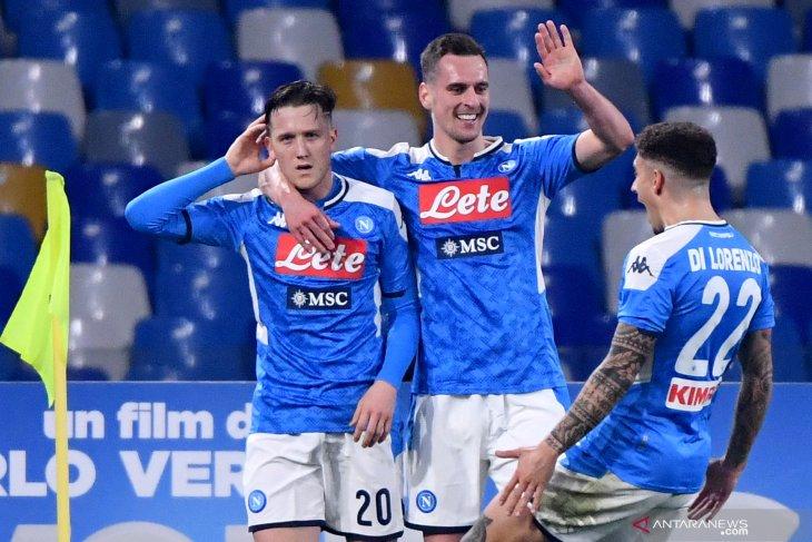 Liga Italia, Napoli tumbangkan Juve 2-1