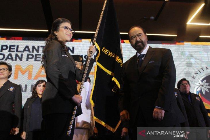 Lantik pengurus Garnita, Paloh: NasDem bisa dipimpin kaum perempuan