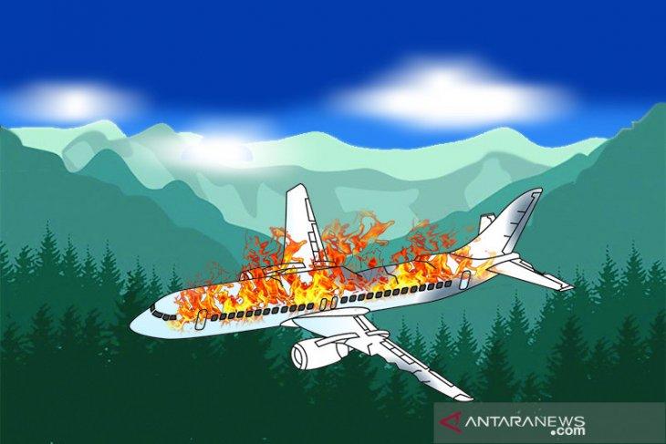 Pesawat militer jatuh di Myanmar, tewaskan 12 orang
