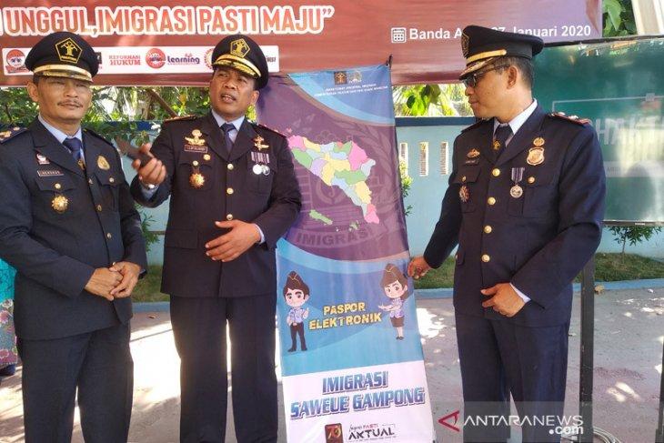 Kemenkumham Aceh dorong imigrasi tingkatkan pelayanan