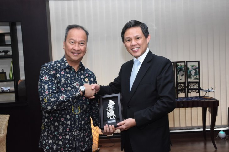 Indonesia, Singapore cooperate to improve industrial competitiveness