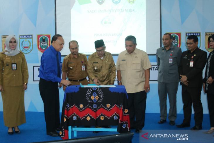 Penyerta modal puas kinerja PDAM Intan Banjar