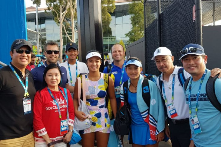 Priska Nugroho tembus perempat final Australian Open Junior
