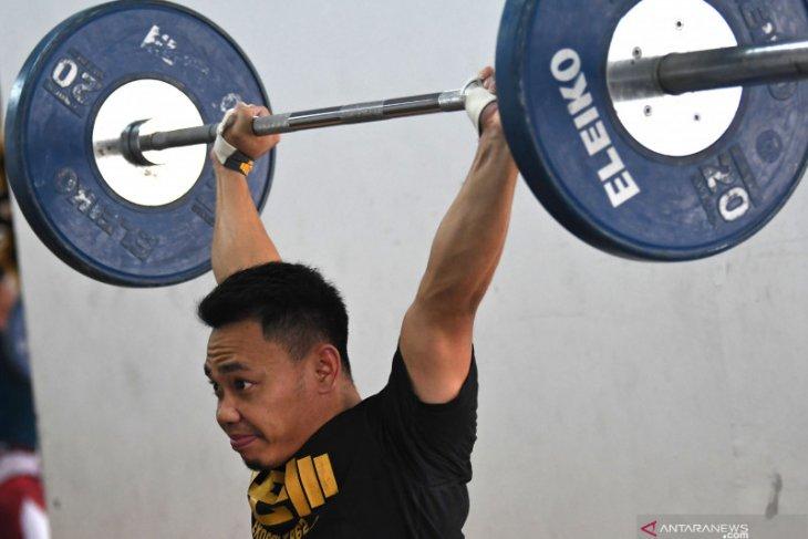 Eko Yuli tetap latihan rutin di tengah COVID 19