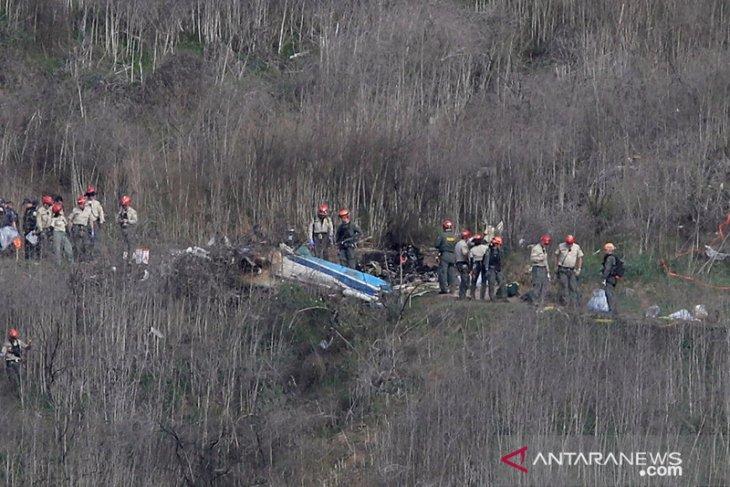 Pilot Kobe Bryant disebut memaksa terbang dalam kondisi berawan