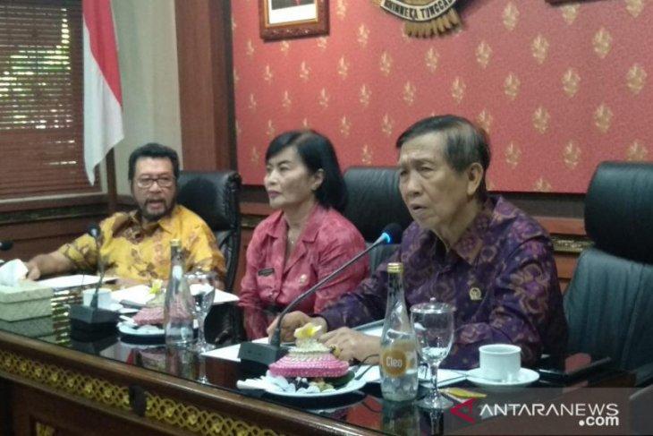 Senator Mangku Pastika dorong Pergub Bali soal