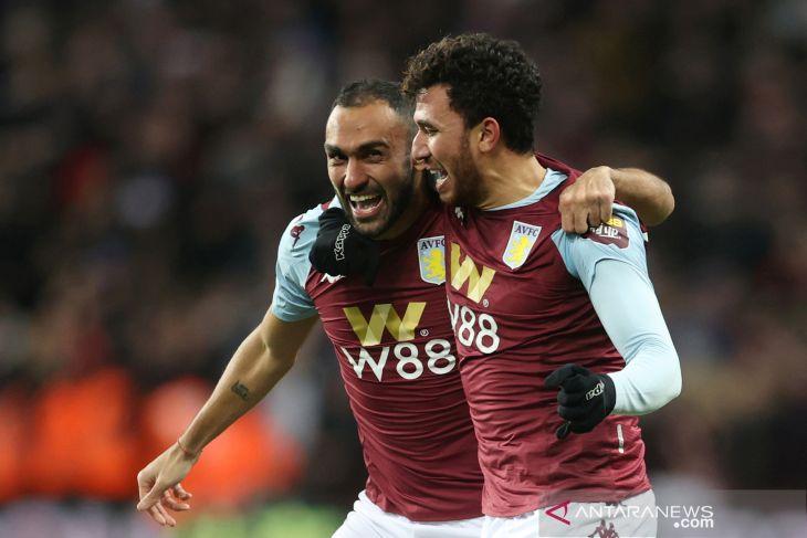 Aston Villa secara dramatis lewati Leicester City  ke final Piala Liga