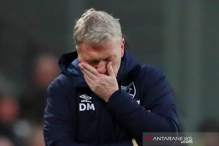 Liga Inggris, Moyes harapkan senyum Dewi Fortuna saat West Ham tantang Liverpool
