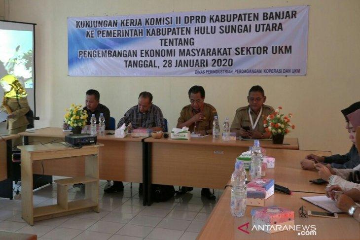 Komisi II DPRD Banjar Kepincut UKM HSU