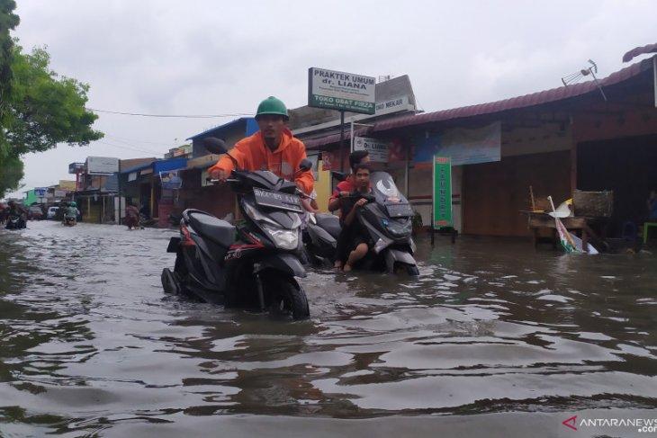 Hujan lebat, Kota Medan terendam banjir