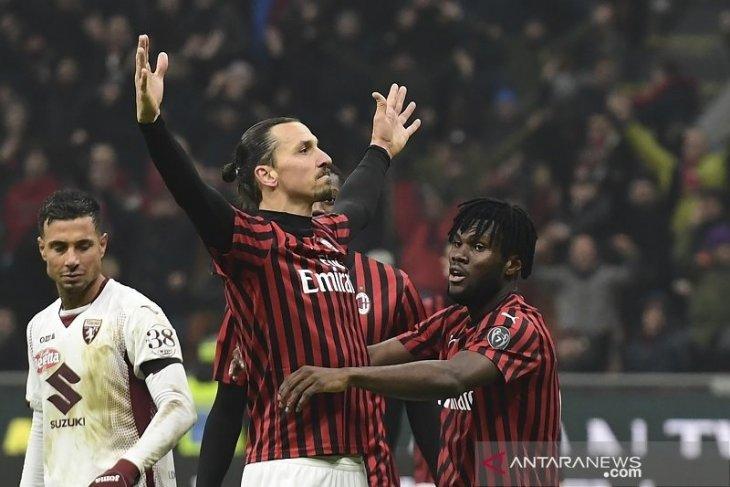 Milan tantang Juventus di semifinal Piala Italia usai bekuk Torino 4-2