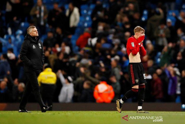Piala Liga, MU menang 1-0, tapi Man City yang berhak ke final berkat skor agregat