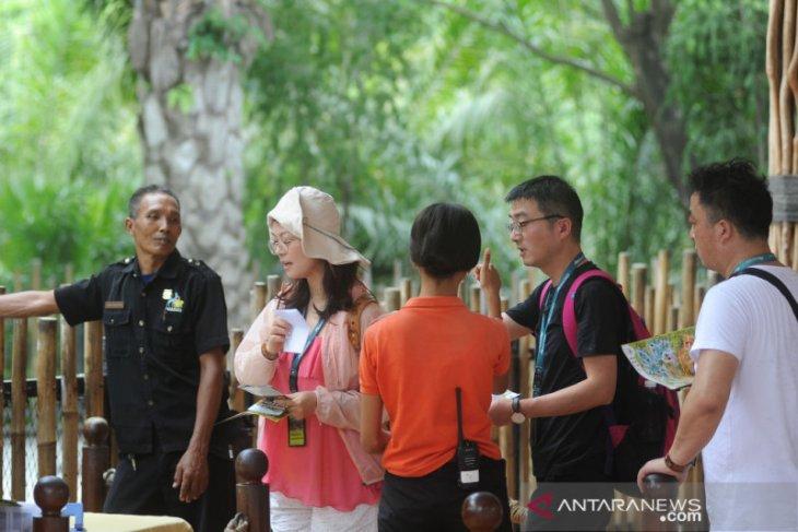 Virus Corona turunkan kunjungan wisatawan China ke