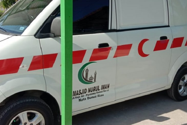 Ambulans masjid raib digondol maling