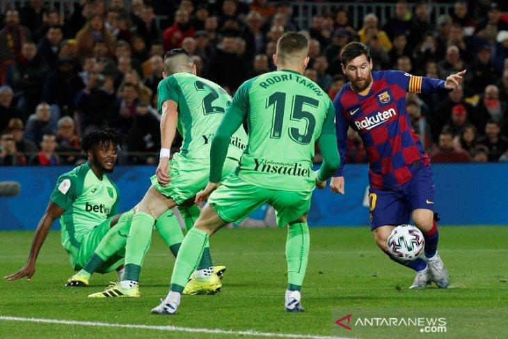 Barcelona bekuk Leganes 5-0 amankan tiket perempat final