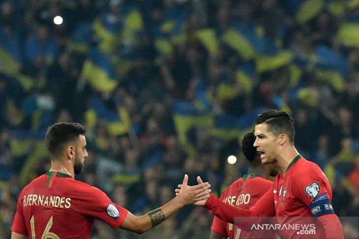 Bruno Fernandes ungkap  peran Ronaldo tumbuhkan cintanya ke Setan Merah