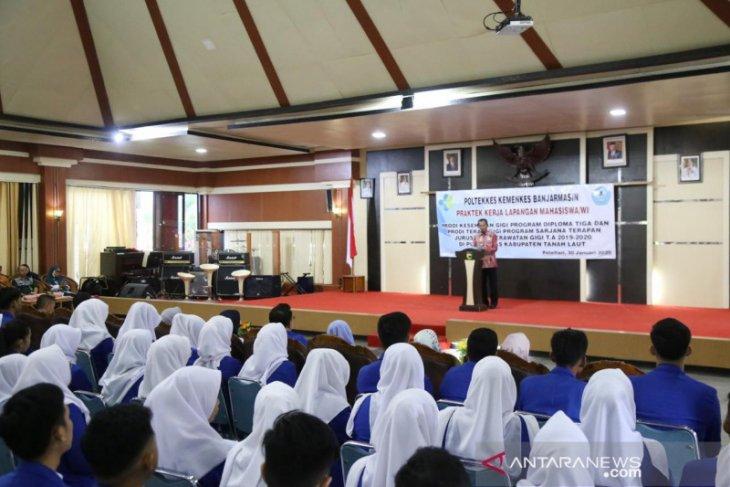 Mahasiswa Poltekes Banjarmasin PKL di Tanah Laut