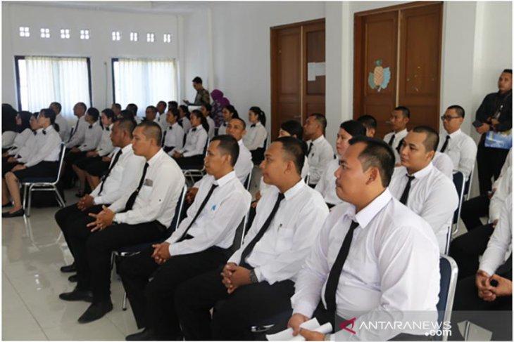 40 CPNS dosen Undiksha ikuti latihan dasar
