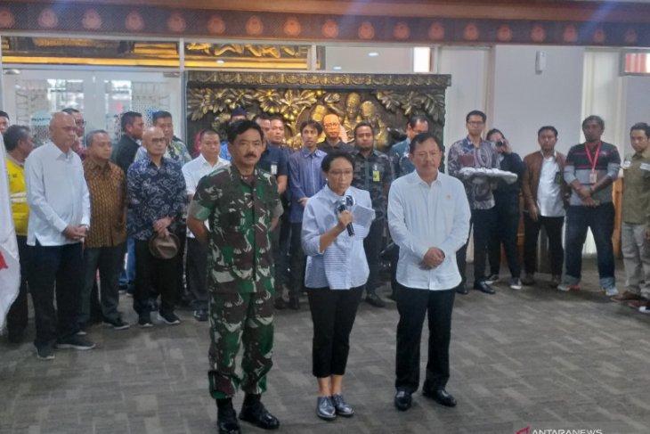 Panglima TNI: WNI dari Wuhan jalani protokol kesehatan di Natuna