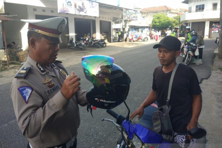 Satlantas Polres Bangka Barat tindak 1.250 pelanggar lalu lintas