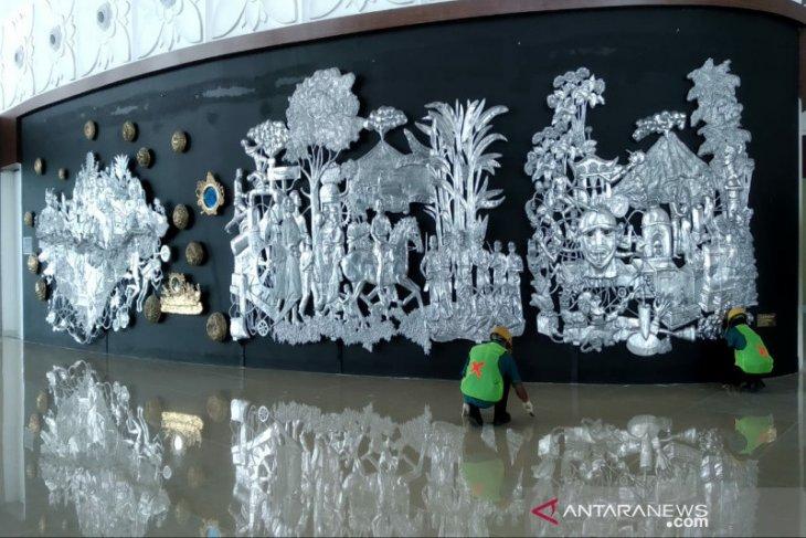 Cultural artworks increase aesthetic appeal of Yogyakarta Airport