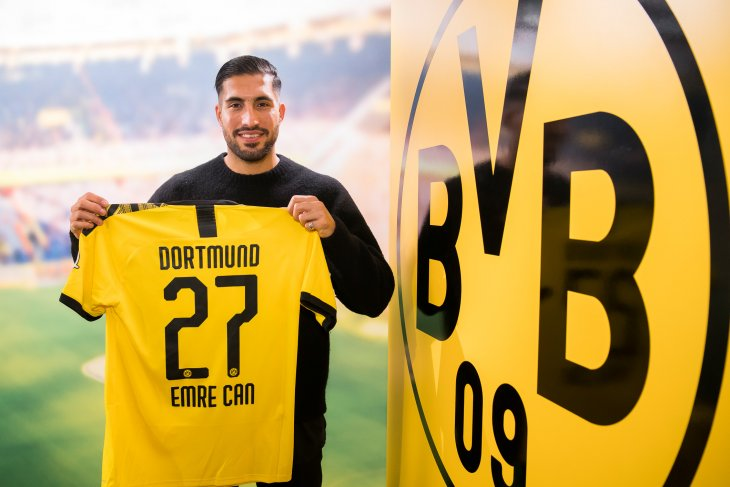 Dortmund resmi datangkan Emre Can dari Juventus