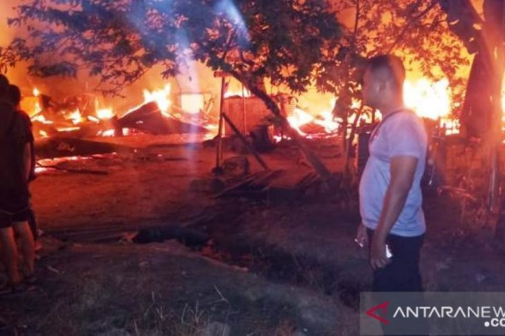 Fire conflagrates 24 homes in North Sumatra
