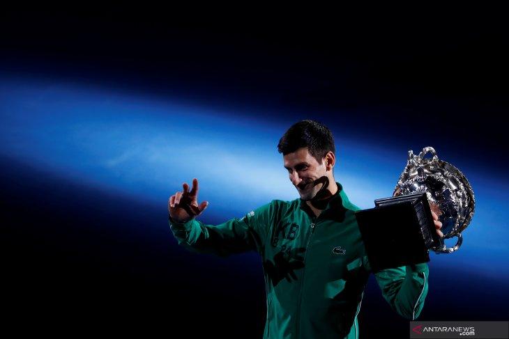 Novak Djokovic kembali bertengger peringkat satu dunia