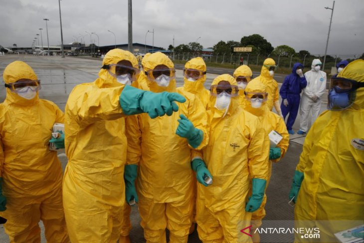 Polri klaim situasi di Natuna kondusif terkait proses karantina WNI dari China