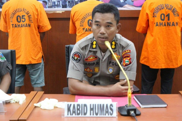 Police apprehend three drug suspects in North Maluku