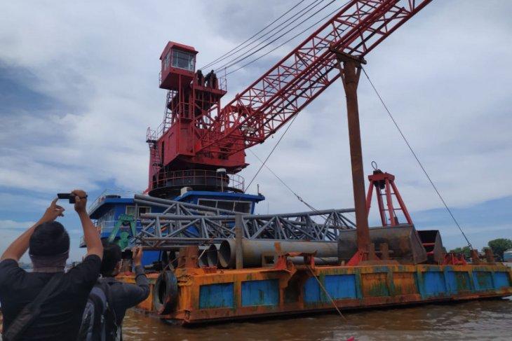 Dua kapal asal China masuk ke Kalbar secara ilegal