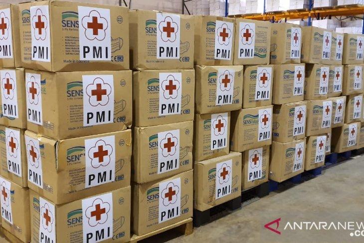 PMI siap kirim 70 ribu masker ke Pulau Natuna dan Hong Kong