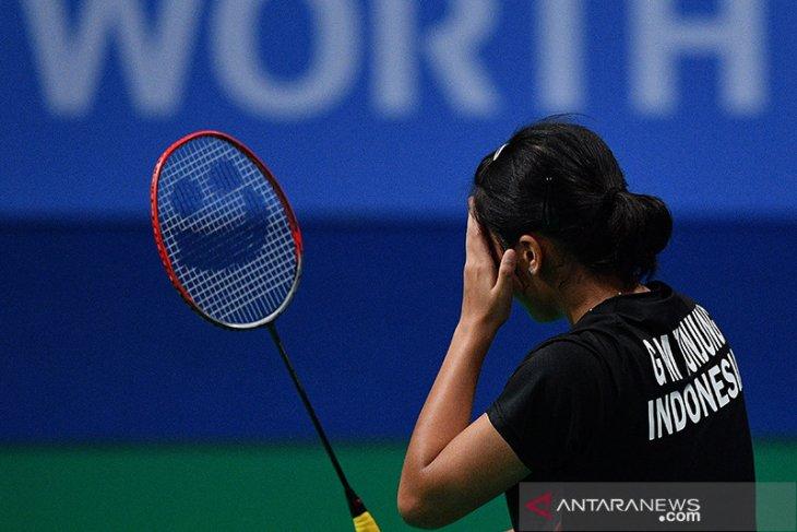 Gregoria Mariska belum mampu atasi unggulan pertama Thailand Open II
