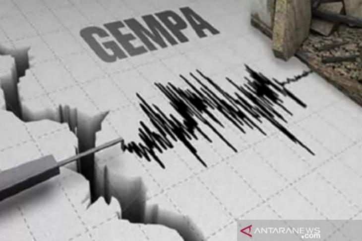 Gempa bumi dengan magnitudo 5,2 terjadi di Bolaang Mongondow Timur