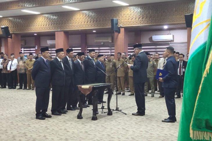Gubernur Aceh lantik Direksi dan Komisaris Bank Aceh Syariah