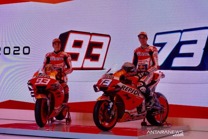 Repsol Honda kenalkan duo Marquez sebagai pebalap di MotoGP 2020