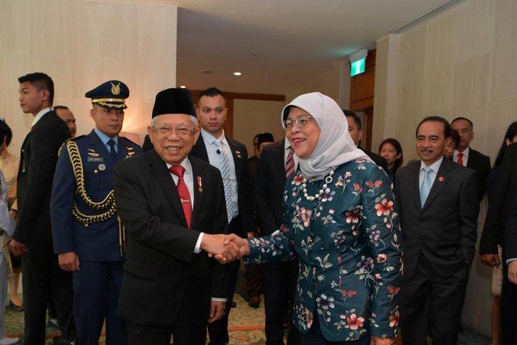 Wapres harap kerja sama Indonesia-Singapura temukan vaksin corona