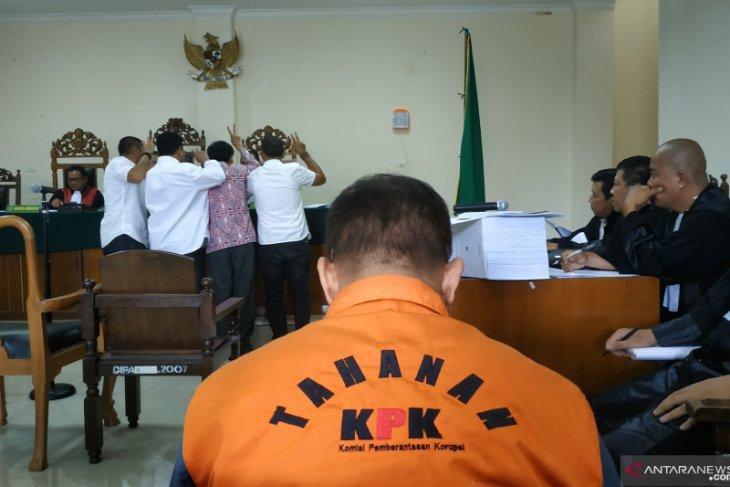 JPU hadirkan empat saksi pada persidangan Bupati Bengkayang nonaktif