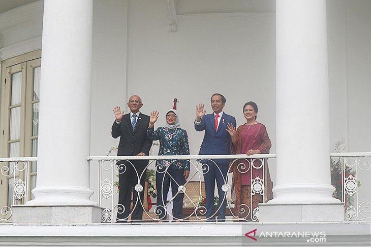 Presiden RI terima kunjungan Presiden Singapura di Istana Bogor