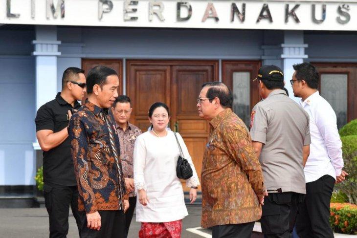 Presiden Jokowi resmikan Monumen Fatmawati Sukarno