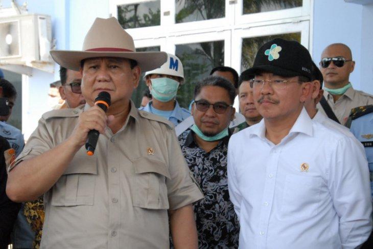 Menhan Prabowo minta Panglima kerahkan pesawat ambil alkes COVID-19 di China