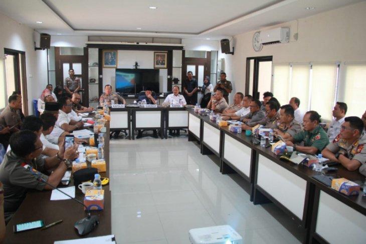 Polda Malut gelar rakor lintas intansi dalam rangka Pilkada 2020