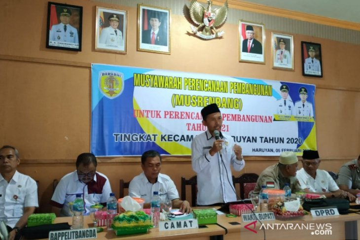 Musrenbang Kecamatan rata-rata mengusulkan pembangunan infrastruktur