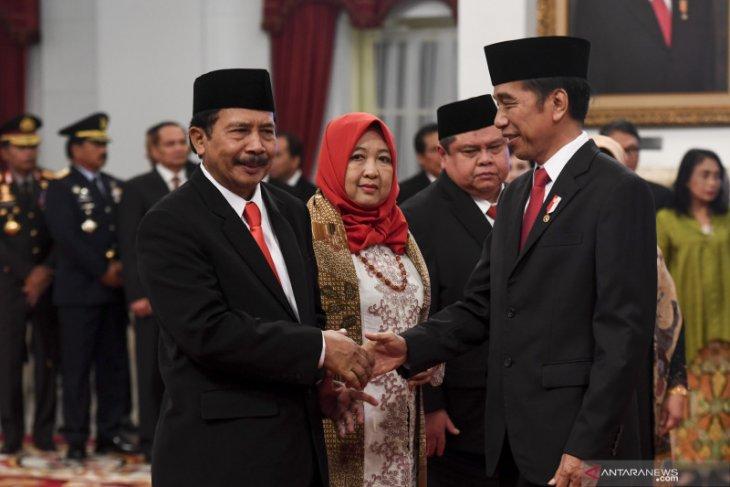 Presiden Jokowi lantik Yudian Wahyudi jadi Kepala BPIP