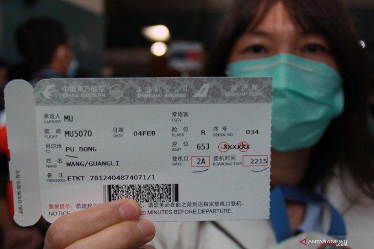 Soekarno-Hatta Airport suspends flights to China