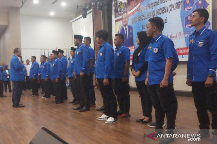 PK KNPI dilantik, wali kota ajak pemuda bersinergi membangun Tanjungbalai