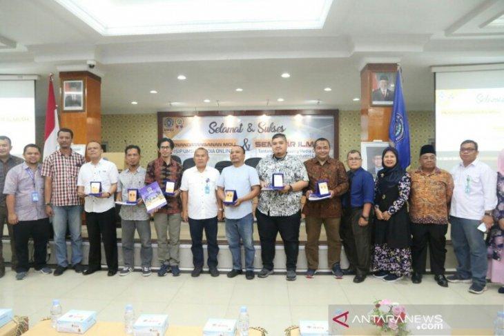 FISIP UMSU tanda tangan MoU dengan Portal ANTARA Sumut